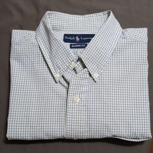 Ralph Lauren S/S button down shirt, sz L